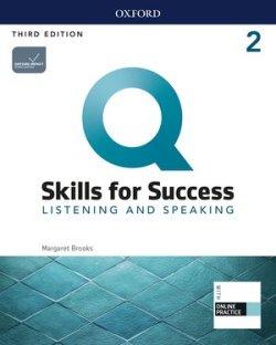 画像1: Q:Skills for Success 3rd Edition Listening and Speaking Level 2 Student Book with iQ Online Practice