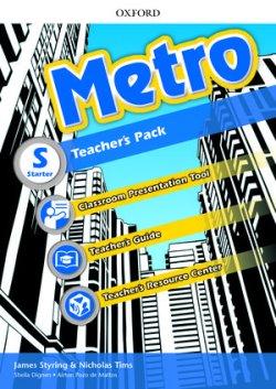 画像1: Metro Level Starter Teacher's Pack