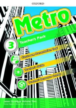 画像1: Metro Level 3 Teacher's Pack