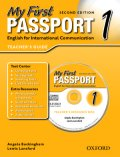 My First Passport 2nd edition 1 Teacher's Book with CD ROM