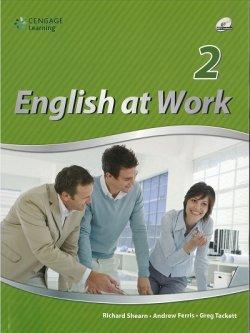 画像1: English at Work 2 Student Book with MP3 CD