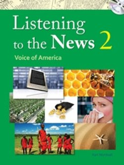 画像1: Listening to the News 2 Student Book with Dictation Book Answer Key and MP3 CD