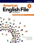 American English File 3rd 4 Student Book with Online Practice