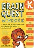 Brain Quest Workbook: Grade K Level