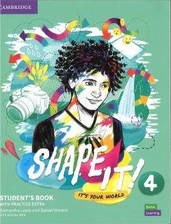 画像1: Shape it! 4 Student Book with Practice Extra