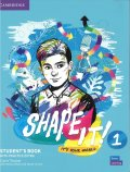 Shape it! 1 Student Book with Practice Extra