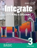 Integrate Listening & Speaking Basic 3 Student Book with Practice Book and MP3 CD