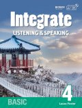 Integrate Listening & Speaking Basic 4 Student Book with Practice Book and MP3 CD