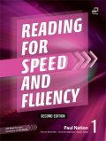 Reading for Speed and Fluency 2nd edition 1 Student Book