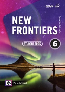 画像1: New Frontiers 6 Student Book with Audio QR code