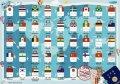 Sticker Chart 発売記念セット(40枚入)