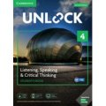 Unlock 2nd Edition Listening Speaking & Critical Thinking Level 4 Student Book