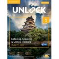 Unlock 2nd Edition Listening Speaking & Critical Thinking Level 1 Student Book