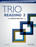 Trio Reading 3 Student Book with Online Practice