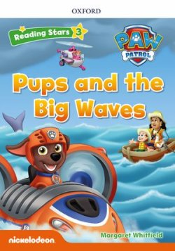 画像1: Reading Stars Level 3 Paw Patrol Pups and the Big Waves Pack