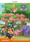 Reading Stars Level 3 Paw Patrol Pups Help the Elephant Pack