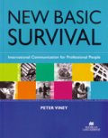 New Basic Survival English Student Book with Self-Study CD