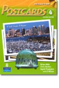 Postcards 2nd edition level 4 Student Book with CD-ROM including MP3 Audio