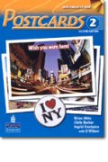 Postcards 2nd edition level 2 Student Book with CD-ROM including MP3 audio