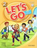 Let's Go 4th Edition level 2 Student Book with CD Pack