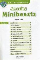 内容チェック!1: Oxford Read and Discover レベル3 Amazing Minibeasts