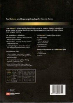 画像2: Total Business Level 3 Upper-Intermediate Student Book with Audio CD