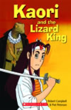 画像1: 【Scholastic ELT Readers】Kaori and the Lizard King book+CD  (Starter level)