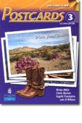 Postcards 2nd edition level 3 Student Book with CD-ROM including MP3 Audio