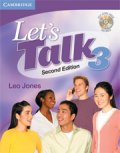 Let's Talk 2nd edition level 3 Student Book with self-study CD