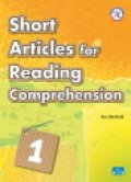 Short Articles for Reading Comprehension level 1 Student Book with Audio CD