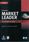 Market Leader Intermediate 3rd Edition Course Book w/DVD-ROM