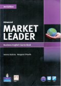 Market Leader Advanced 3rd Edition Course Book w/DVD-ROM