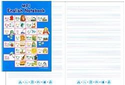 画像1: mpi English Notebook 英語ノート