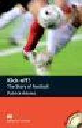 【Macmillan Readers】Pre-intermediate: Kick-off! the Story of football CDパック