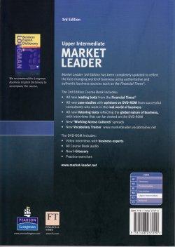 画像2: Market Leader Upper-Intermediate 3rd Edition Course Book w/DVD-ROM