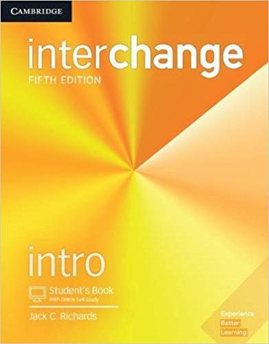 interchange 5th edition intro student book with online self studyak