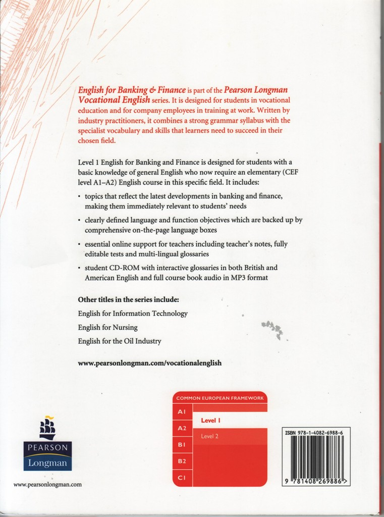 Vocational English CourseBook:English for Banking & Finance 1