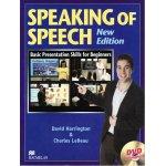 画像: Speaking of Speech New Edition Student Book with DVD