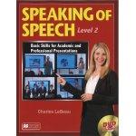 画像: Speaking of Speech Level 2 Student Book with DVD