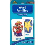 画像: Word Families School Zone Flash Card
