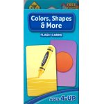 画像: Color,Shapes & More  School Zone Flash Card