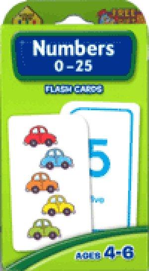 画像1: Numbers 0-25 School Zone Flash Card