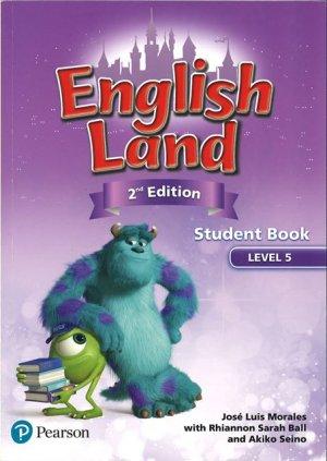 画像1: English Land 2nd Edition Level 5 Student Book with CDs