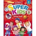 画像: Superkids 3rd edition Level 1 Student Book with CD and Access Code