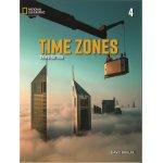 画像: Time Zones 3rd Edition Level 4 Student Book with Online Practice