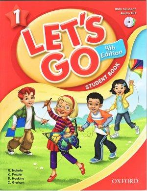 画像1: Let's Go 4th Edition level 1 Student Book with CD Pack
